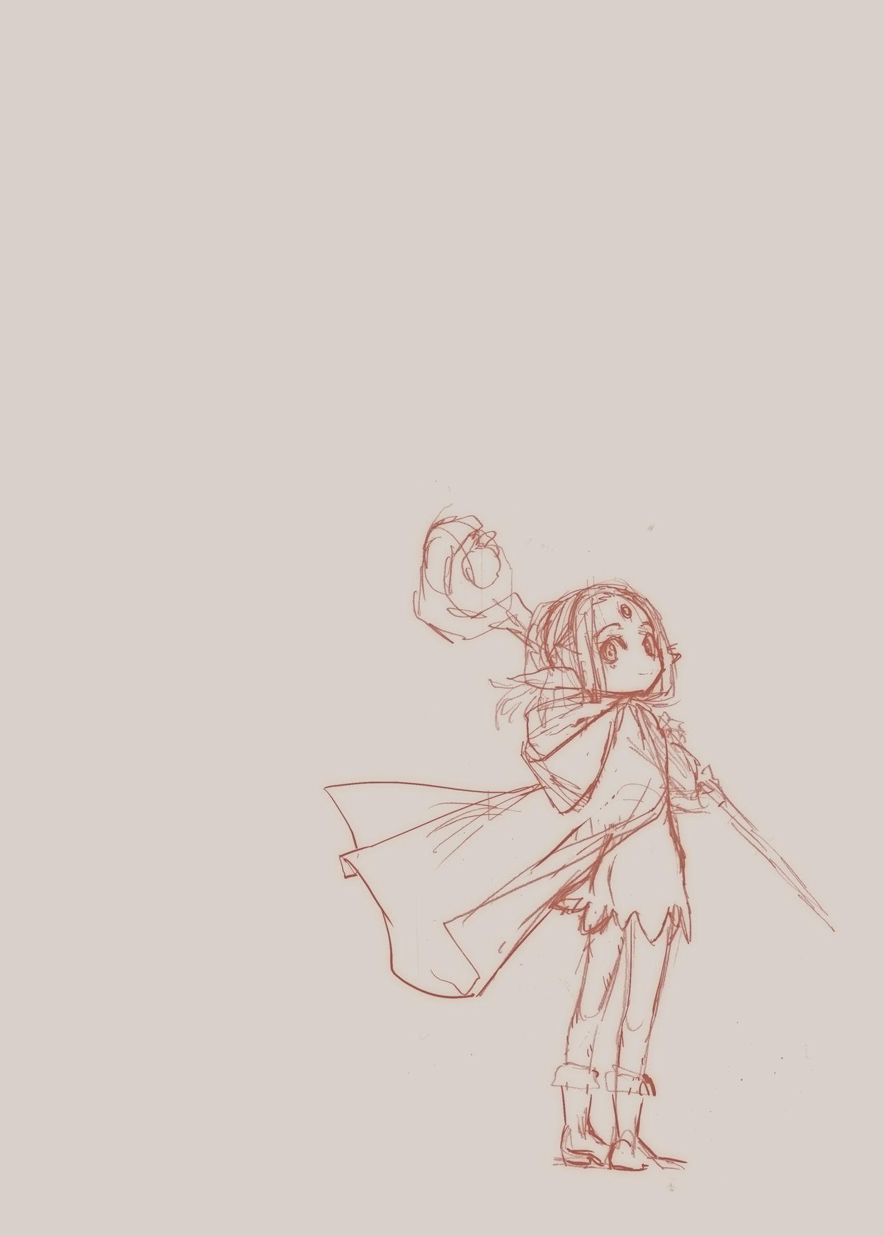 Daraku no Majo ~Shounen Yuusha to Tsurupeta Elf wa Ika ni Shite Majo ni Yabureta ka 25