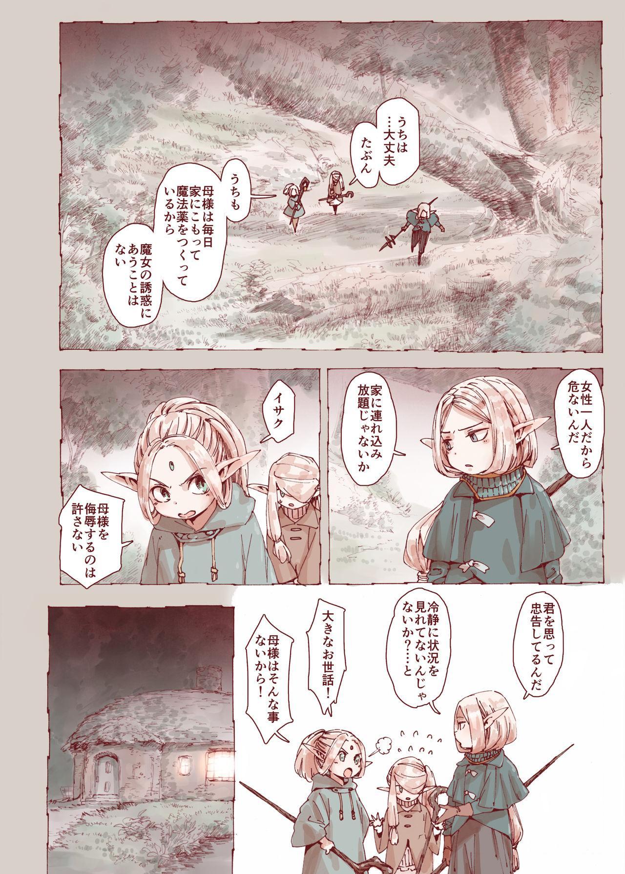 Daraku no Majo ~Shounen Yuusha to Tsurupeta Elf wa Ika ni Shite Majo ni Yabureta ka 27