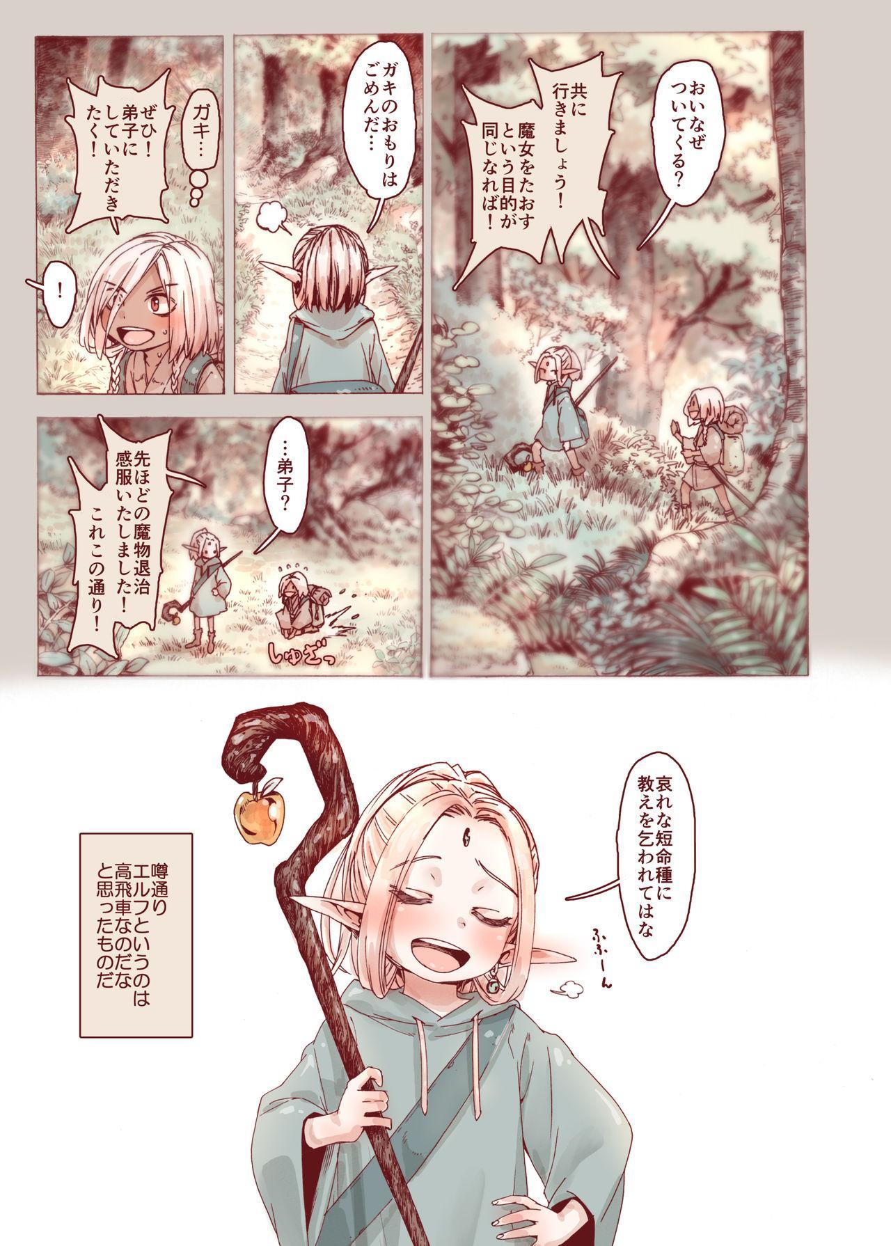 Daraku no Majo ~Shounen Yuusha to Tsurupeta Elf wa Ika ni Shite Majo ni Yabureta ka 40