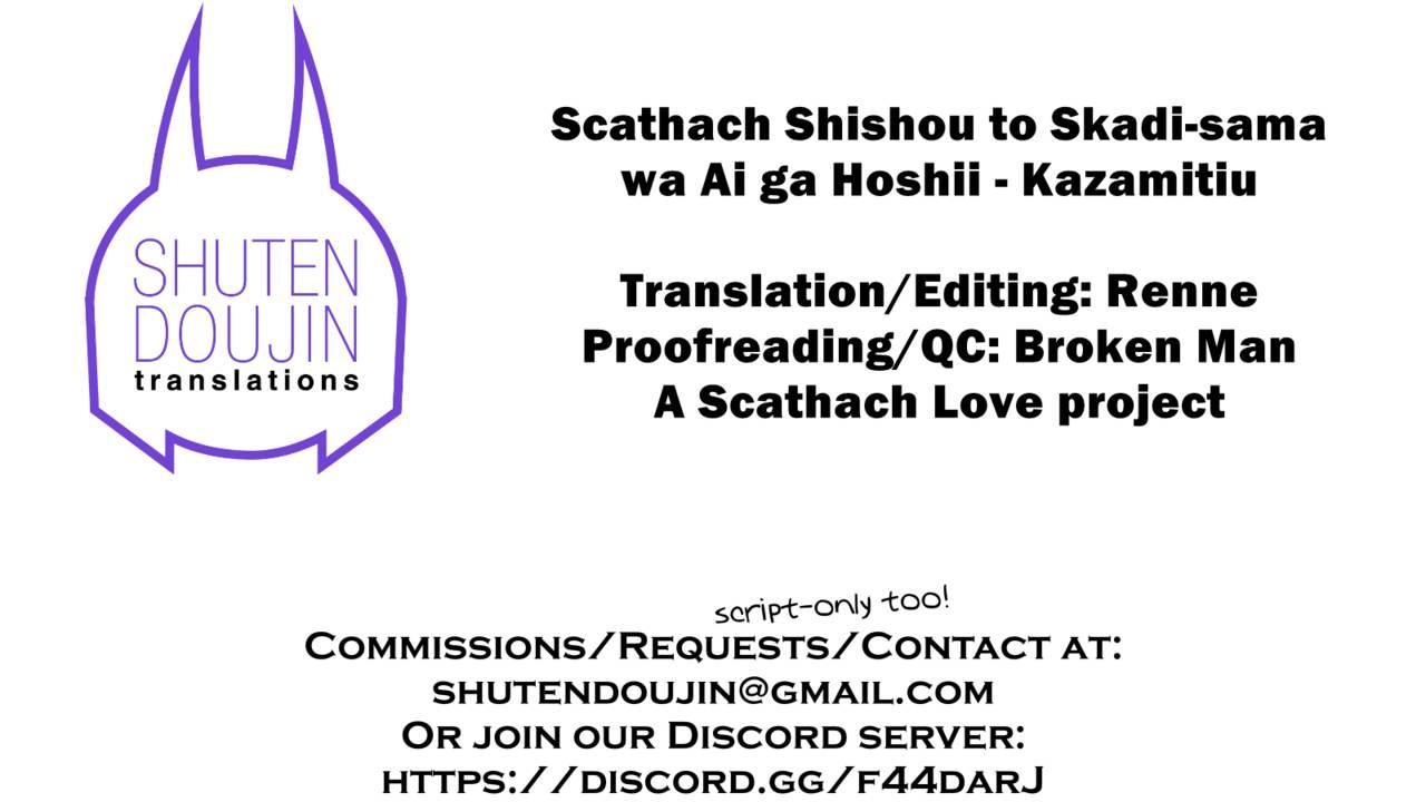 Scathach Shishou to Skadi-sama wa Ai ga Hoshii 24