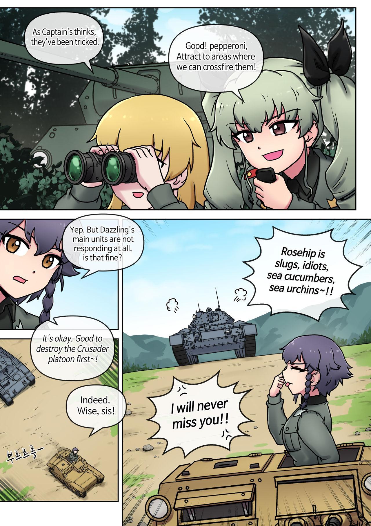 Porn Comics Girls Und Panzer