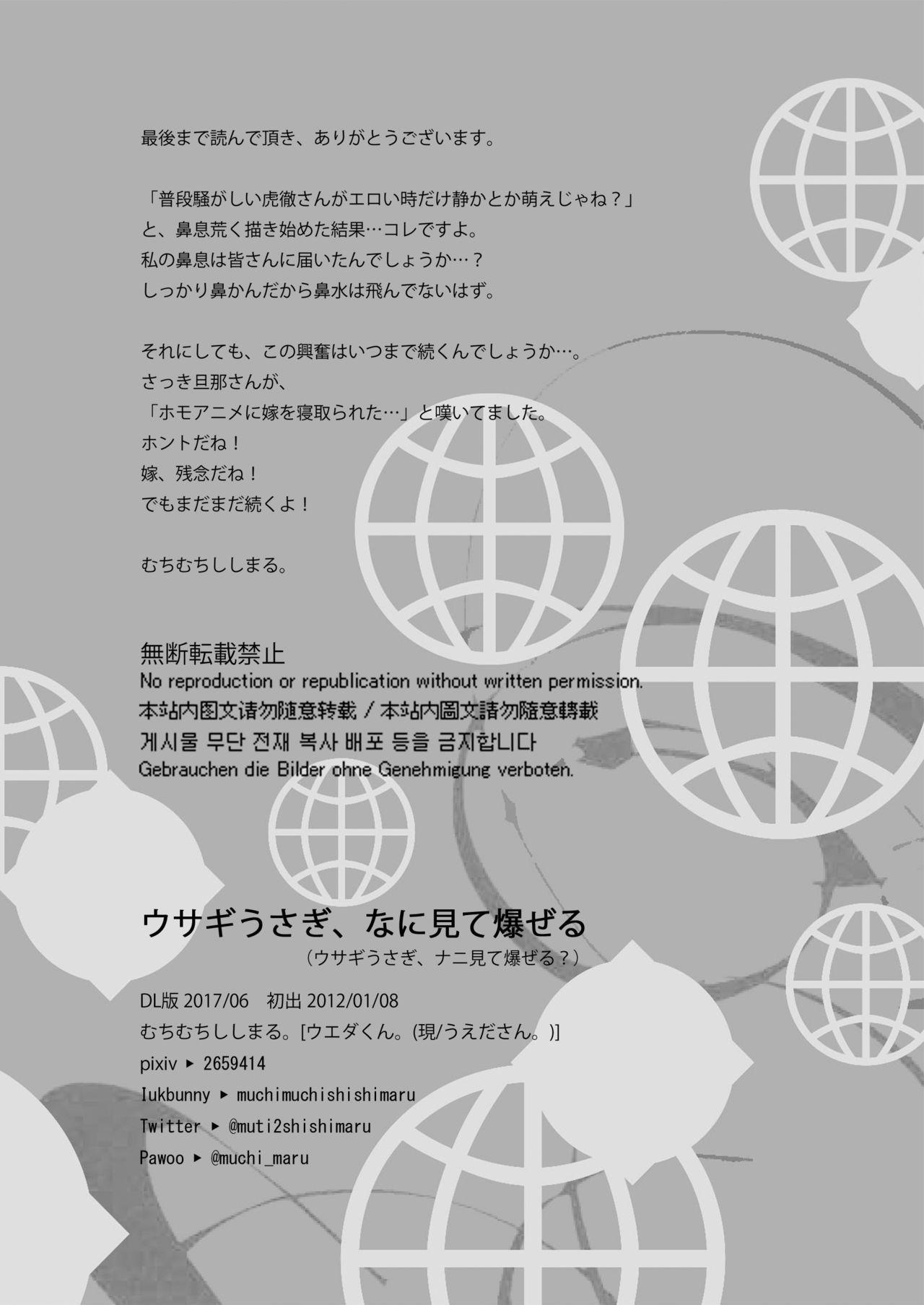Usagi Usagi, Nani Mite Hazeru 23