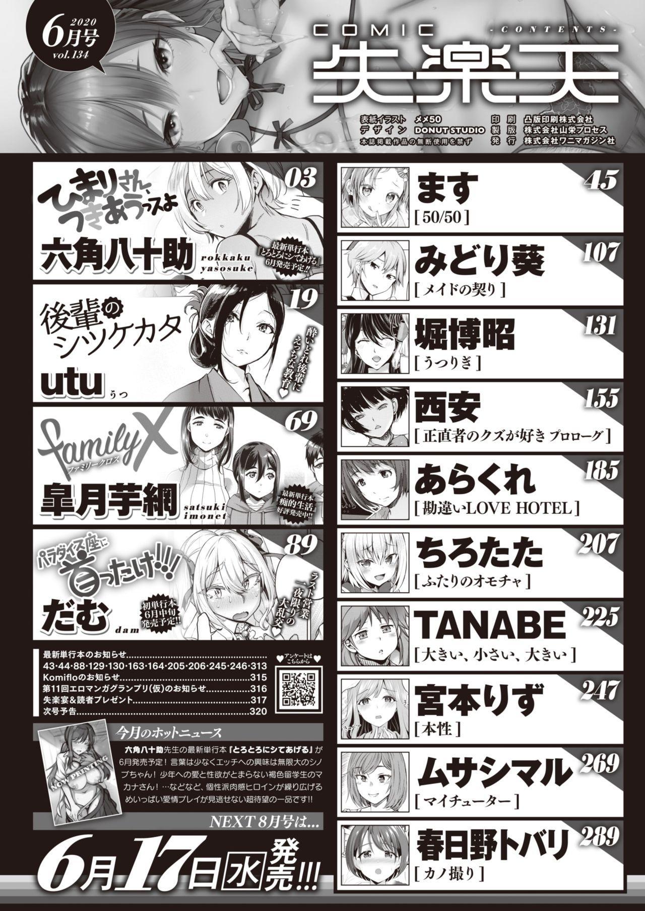 COMIC Shitsurakuten 2020-06 1