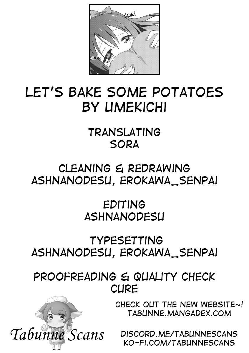 Yakiimo Yaketa ka   Let's bake some potatoes 26