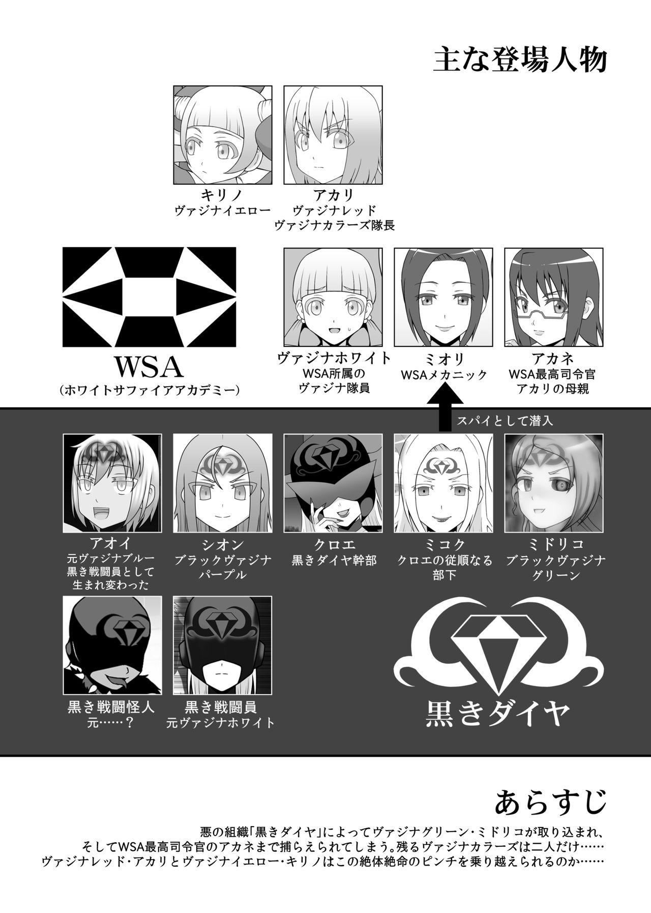 [STUDIO HP+ (IceLee)] Teisou Sentai Virginal Colors Dai-Go-wa 0
