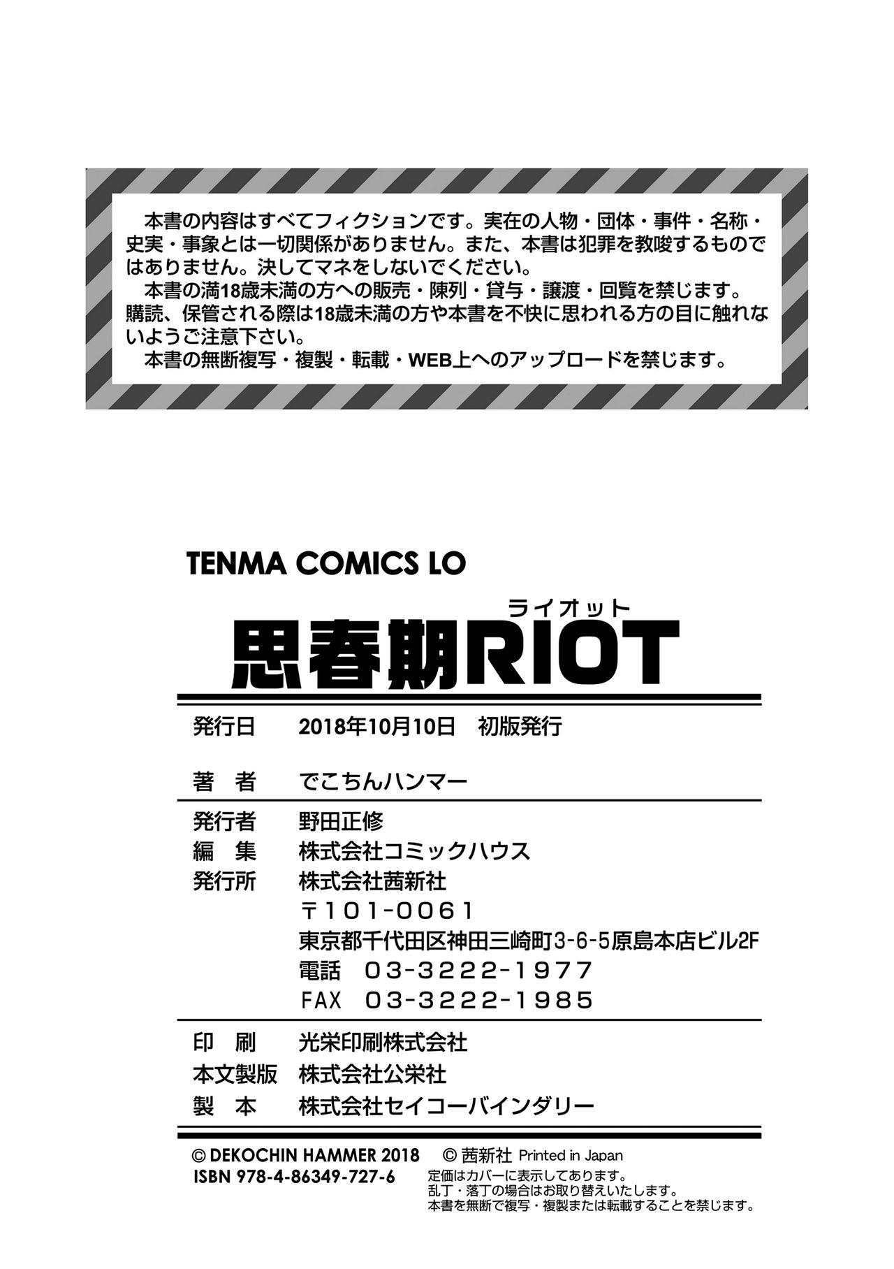 Shishunki RIOT - Puberty Riot 177