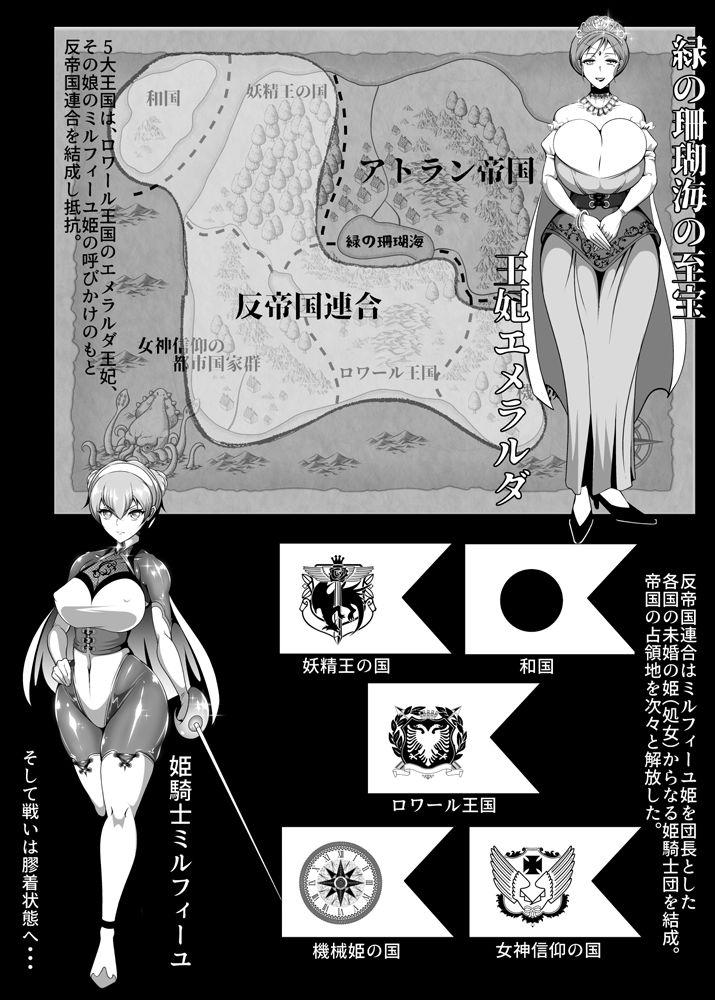 Inmon Akuochi no Hime Kishidan 3