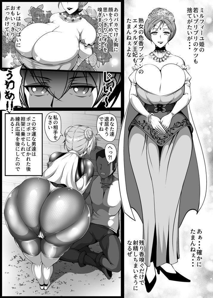 Inmon Akuochi no Hime Kishidan 43