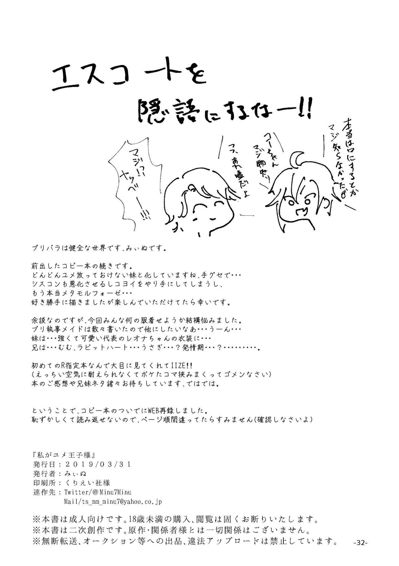 Watashi ga Yume Ouji-sama 29