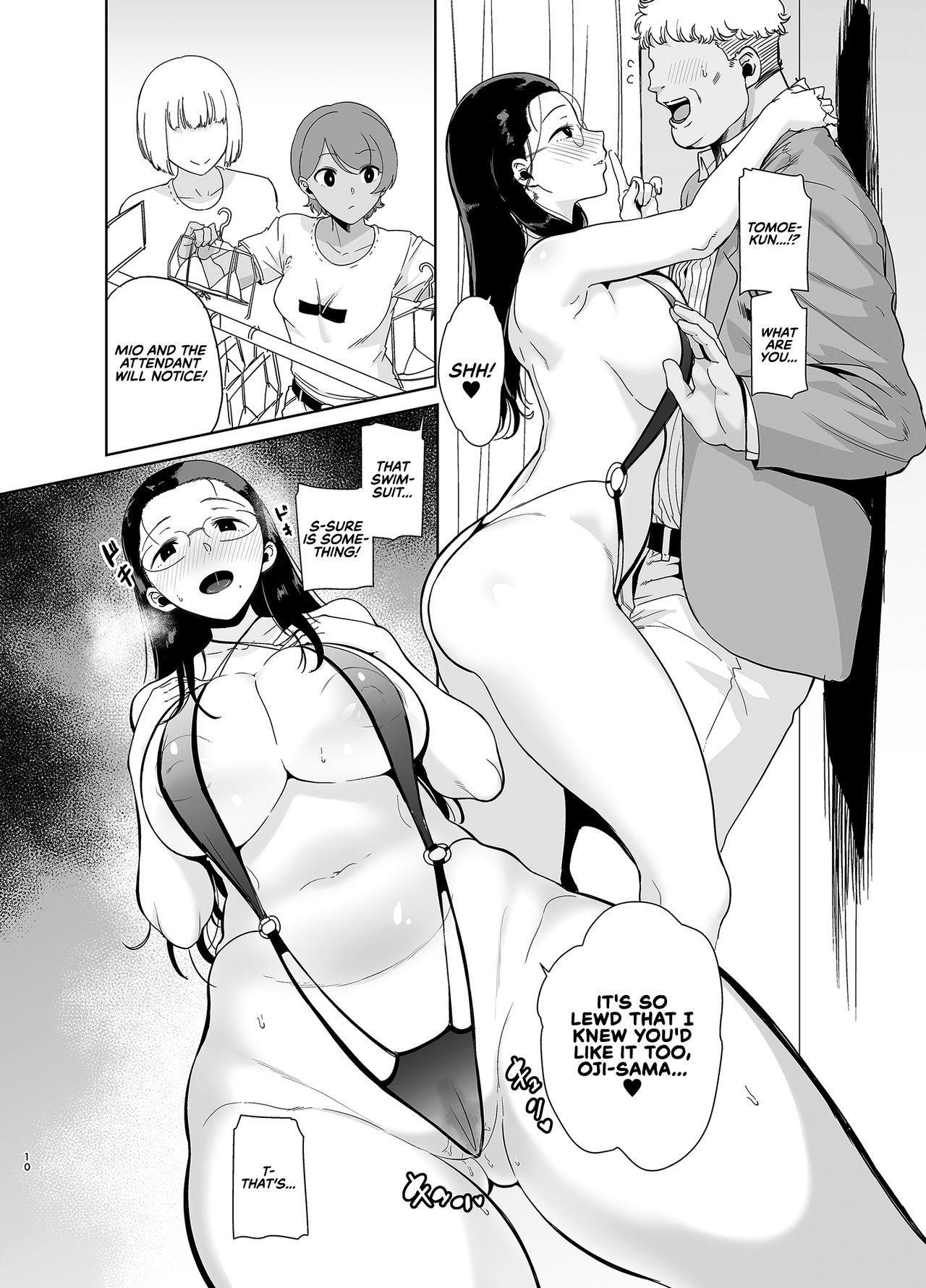 [DOLL PLAY (Kurosu Gatari)] Seika Jogakuin Koutoubu Kounin Sao Oji-san 3 | Seika Girls' Academy Official Rod Oji-san 3 [English] [RedLantern] [Digital] 9