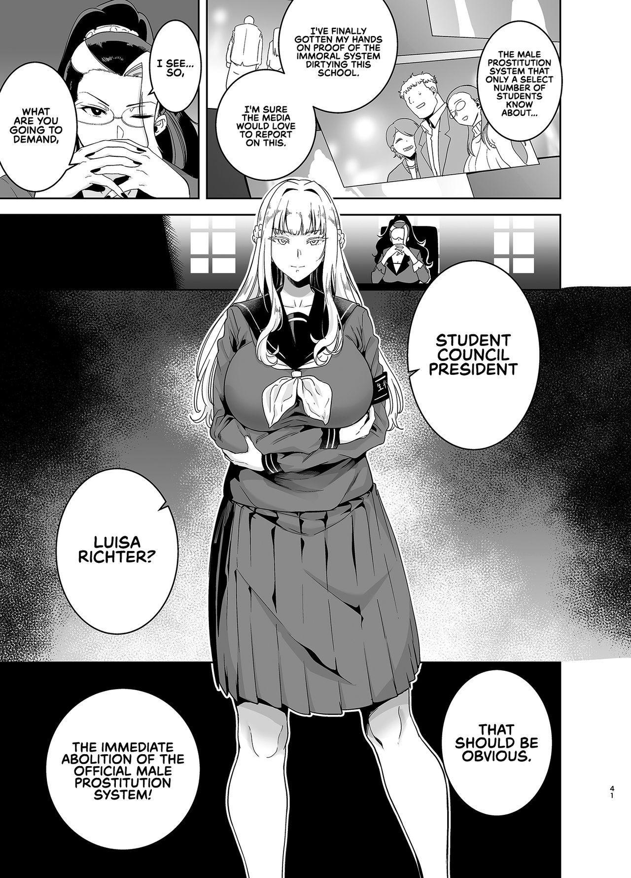 [DOLL PLAY (Kurosu Gatari)] Seika Jogakuin Koutoubu Kounin Sao Oji-san 3 | Seika Girls' Academy Official Rod Oji-san 3 [English] [RedLantern] [Digital] 40