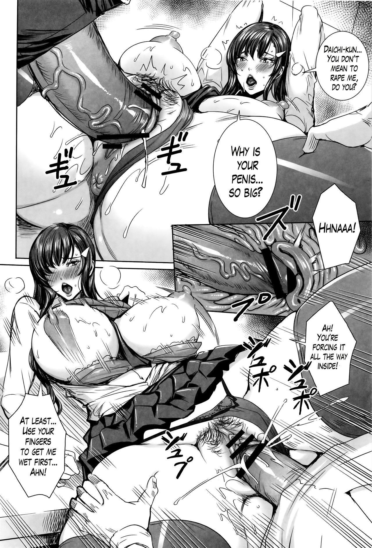 Kyuuketsu Jokyoushi No Kenzoku Seikatsu 81