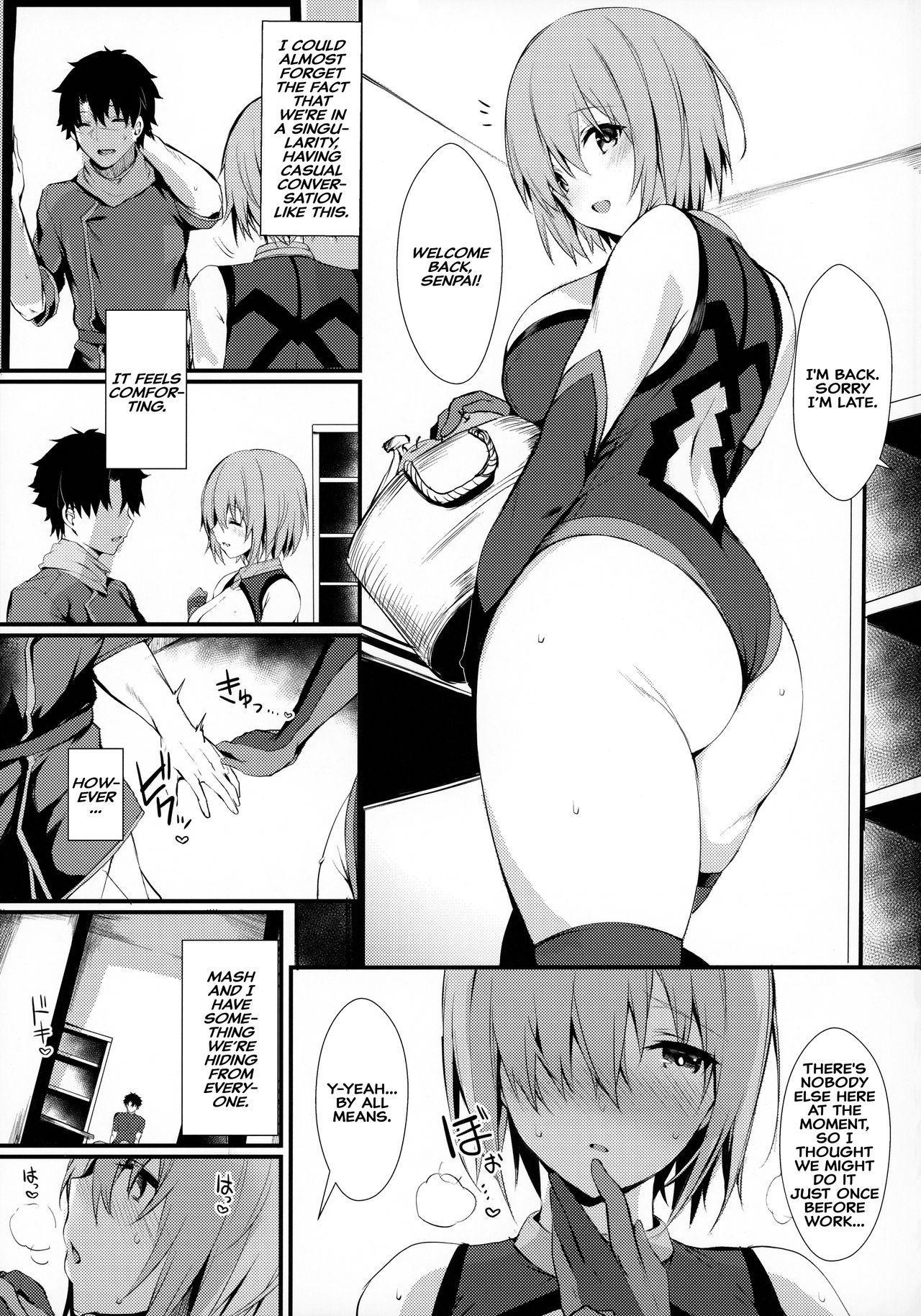 Mash to Shitekita Kakushigoto | Secret Activities With Mash 5
