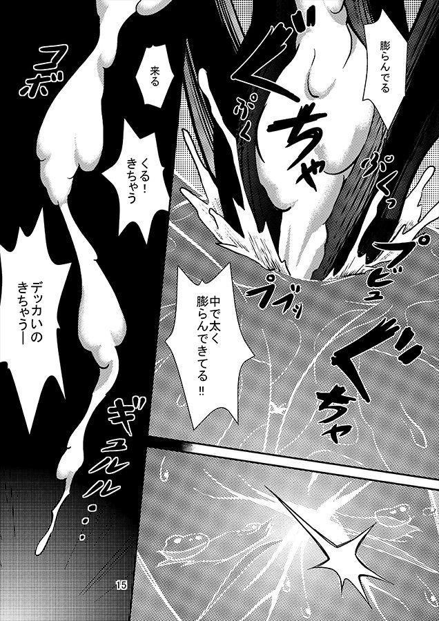 Juuryokuki to Kanojo no Neko to no Seikatsu ni Oite, Futari no Kankei ni Shoujita Himegoto 14