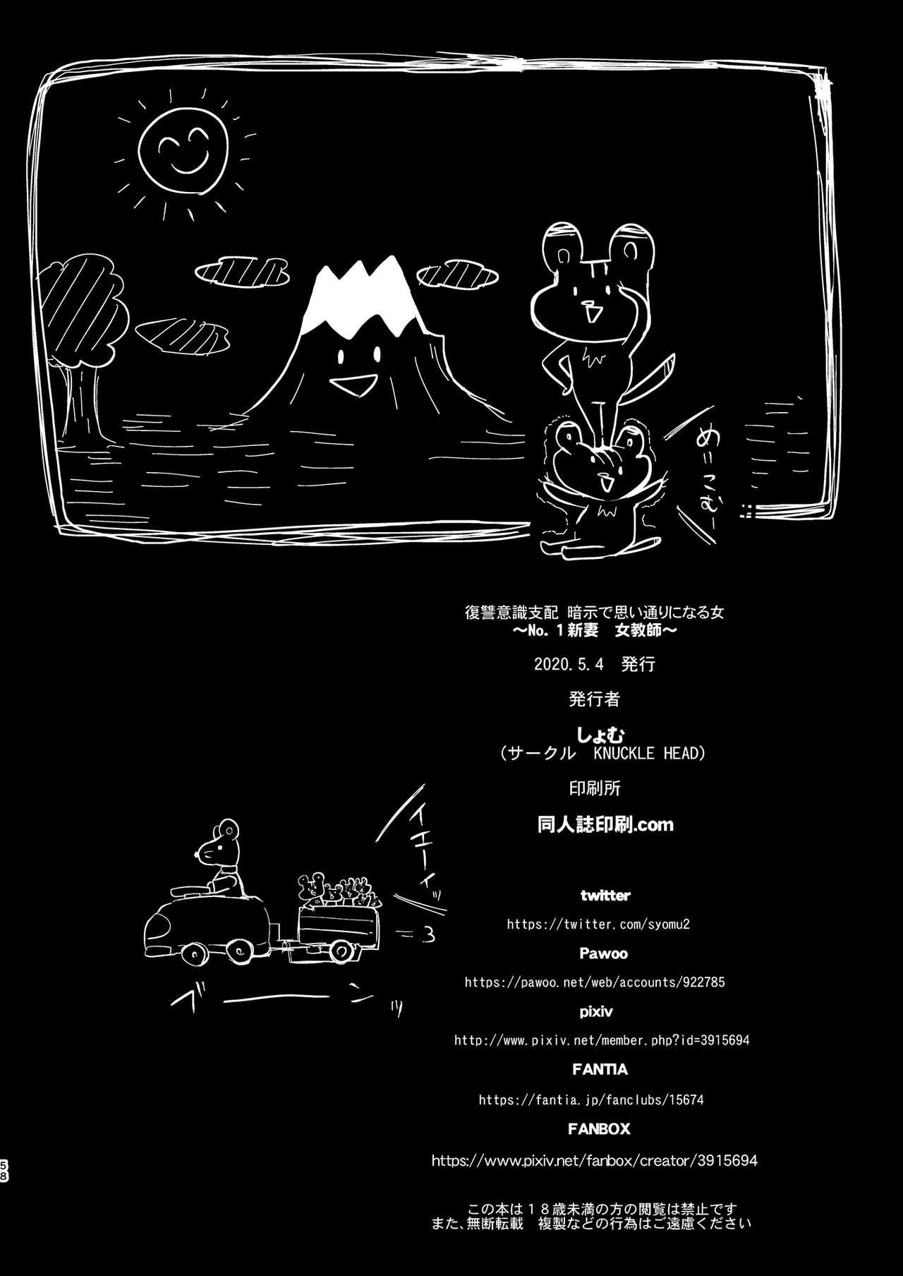 Fukushuu Ishiki Shihai Anji de Omoidoori ni Naru Onna 56