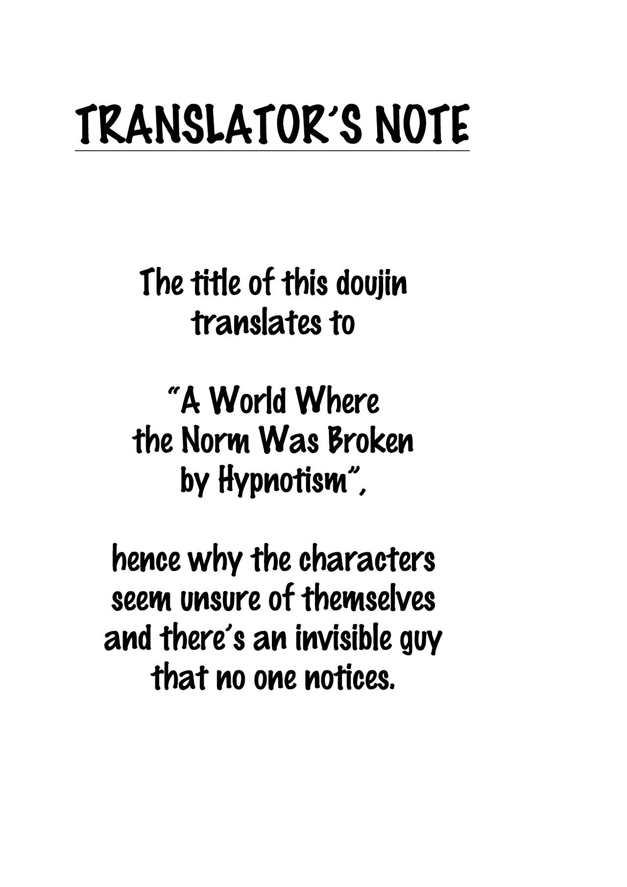 Saimin de Joushiki ga Kowasareta Sekai   A World Where the Norm is Broken by Hypnotism 1