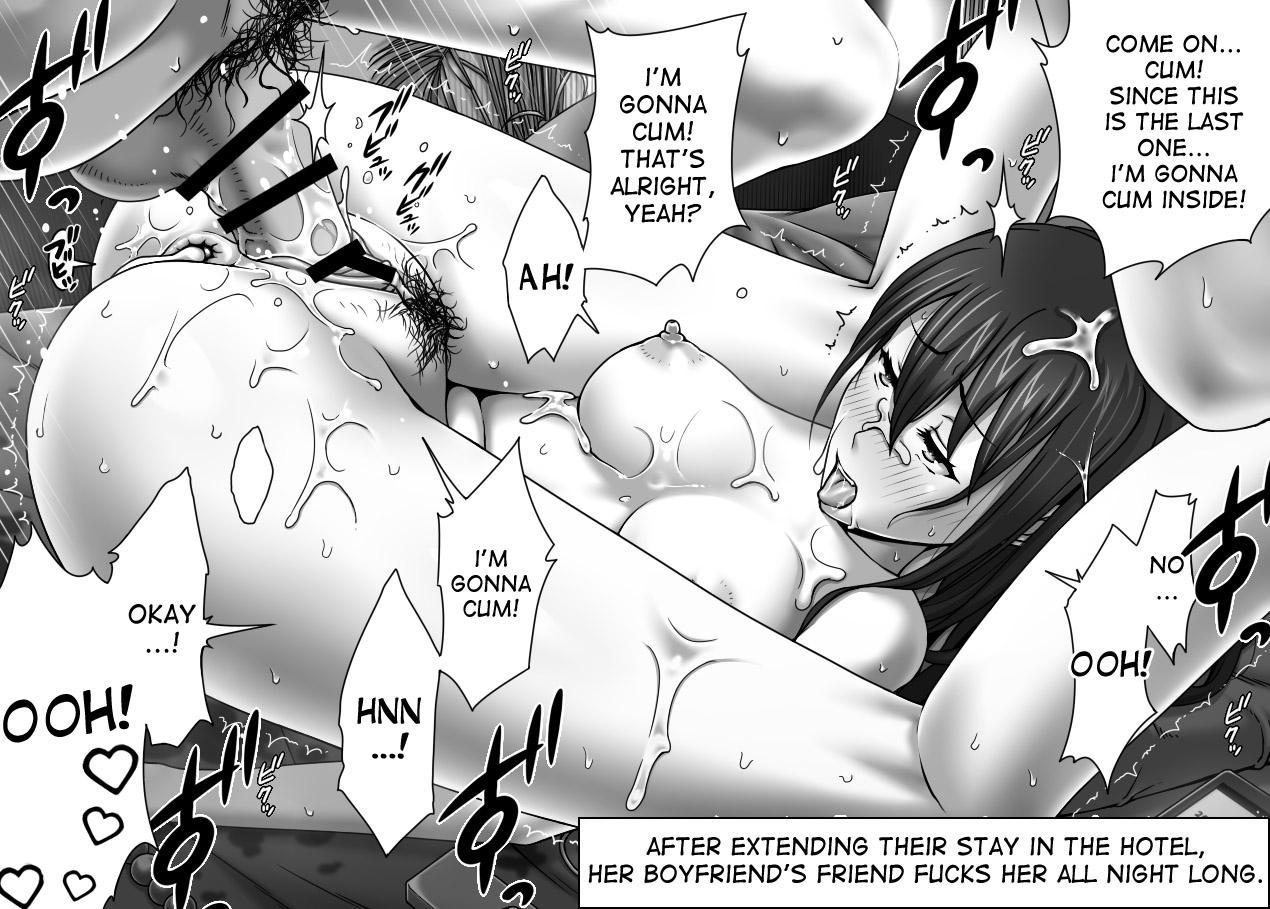[Kinoko931% (Taono Kinoko)] Kareshi no Me no Mae de Anal Kaihatsu Sareru + Omake pg57 [English] [desudesu] COMPLETE 36