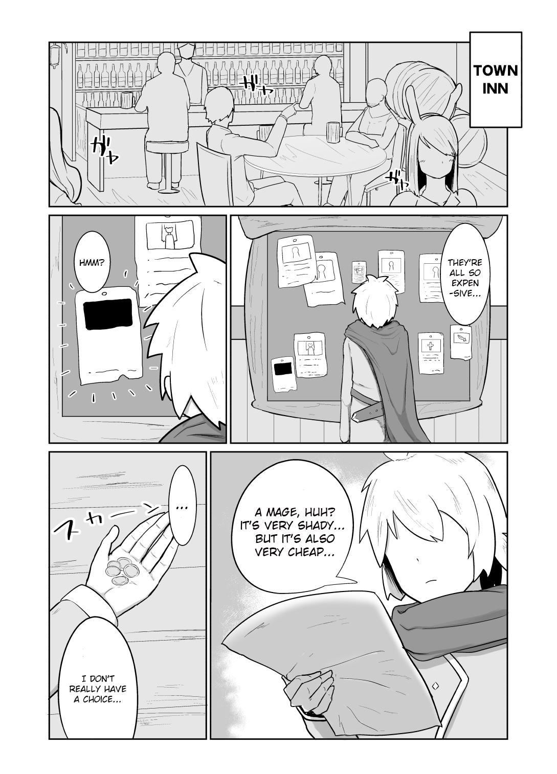[Initiative (Fujoujoshi)] Party ni Yatotta Mahoutsukai ni Musekinin Tanetsuke Suru Hanashi | Hiring a mage to breed her irresponsibly [English] (RhinocerosBeetle] 6