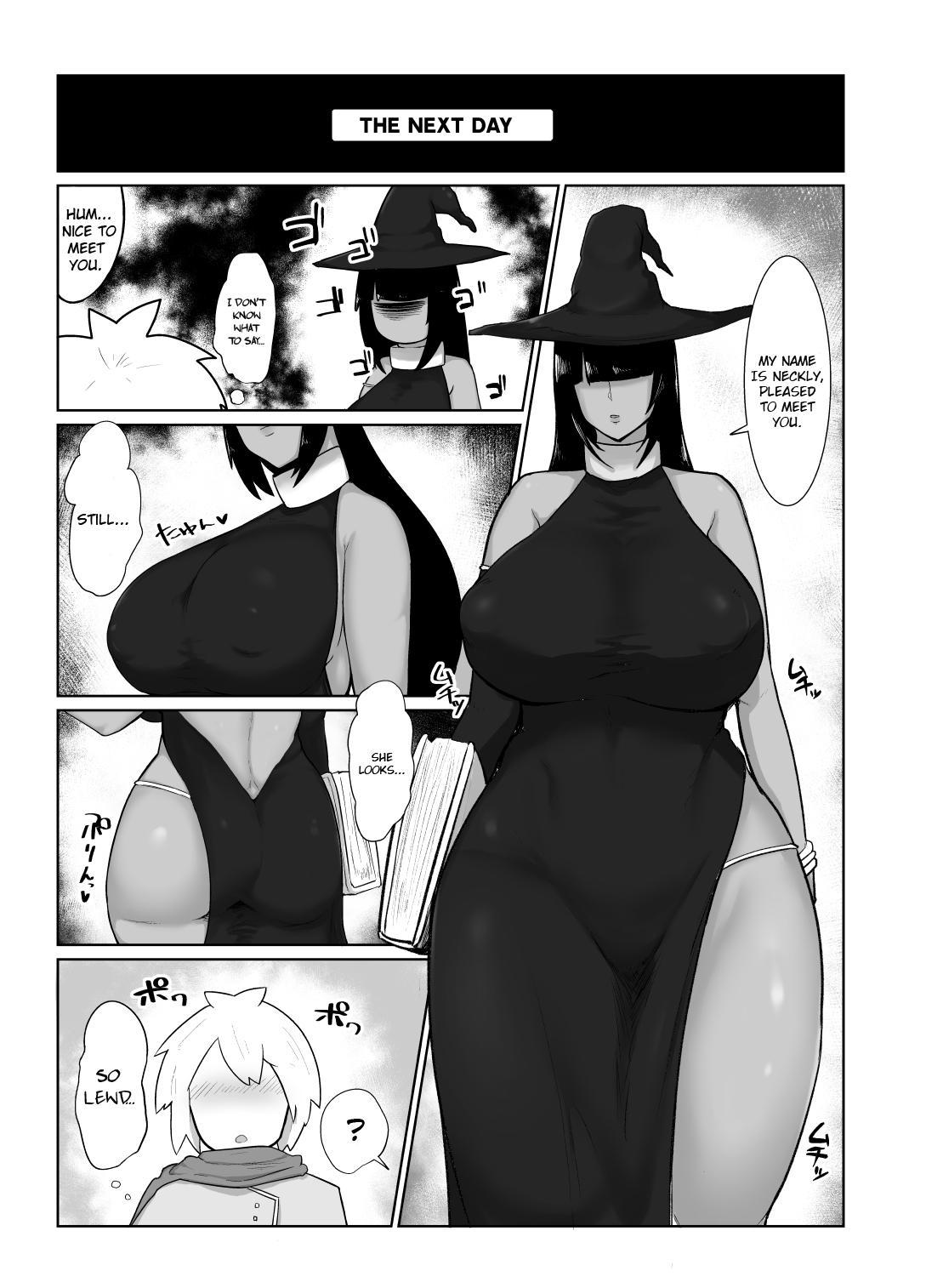 [Initiative (Fujoujoshi)] Party ni Yatotta Mahoutsukai ni Musekinin Tanetsuke Suru Hanashi | Hiring a mage to breed her irresponsibly [English] (RhinocerosBeetle] 7