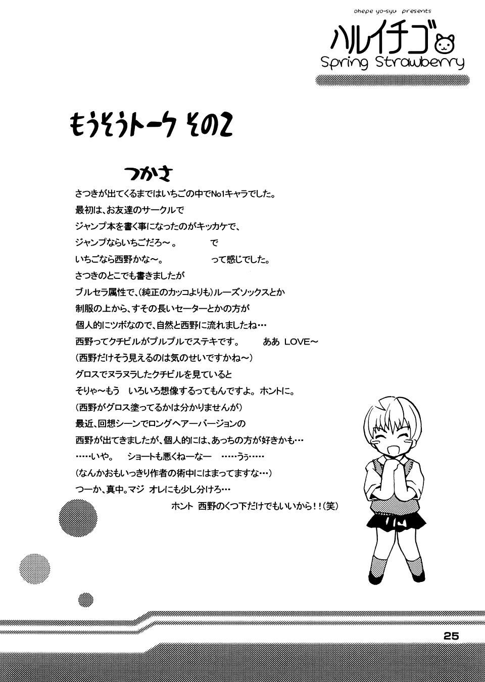 Haru Ichigo - Spring Strawberry 24