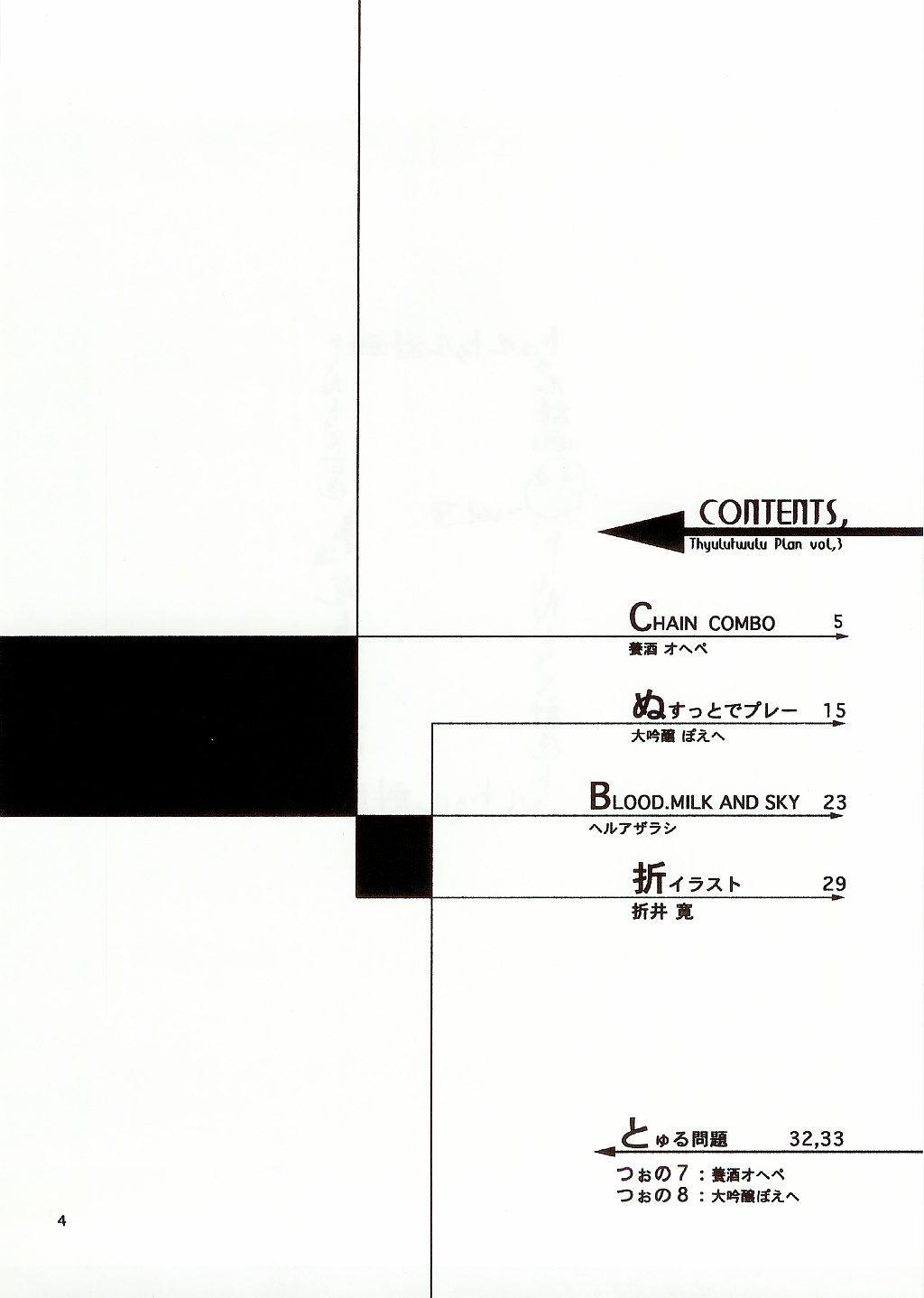 Thultwul Keikaku Vol. 3 3