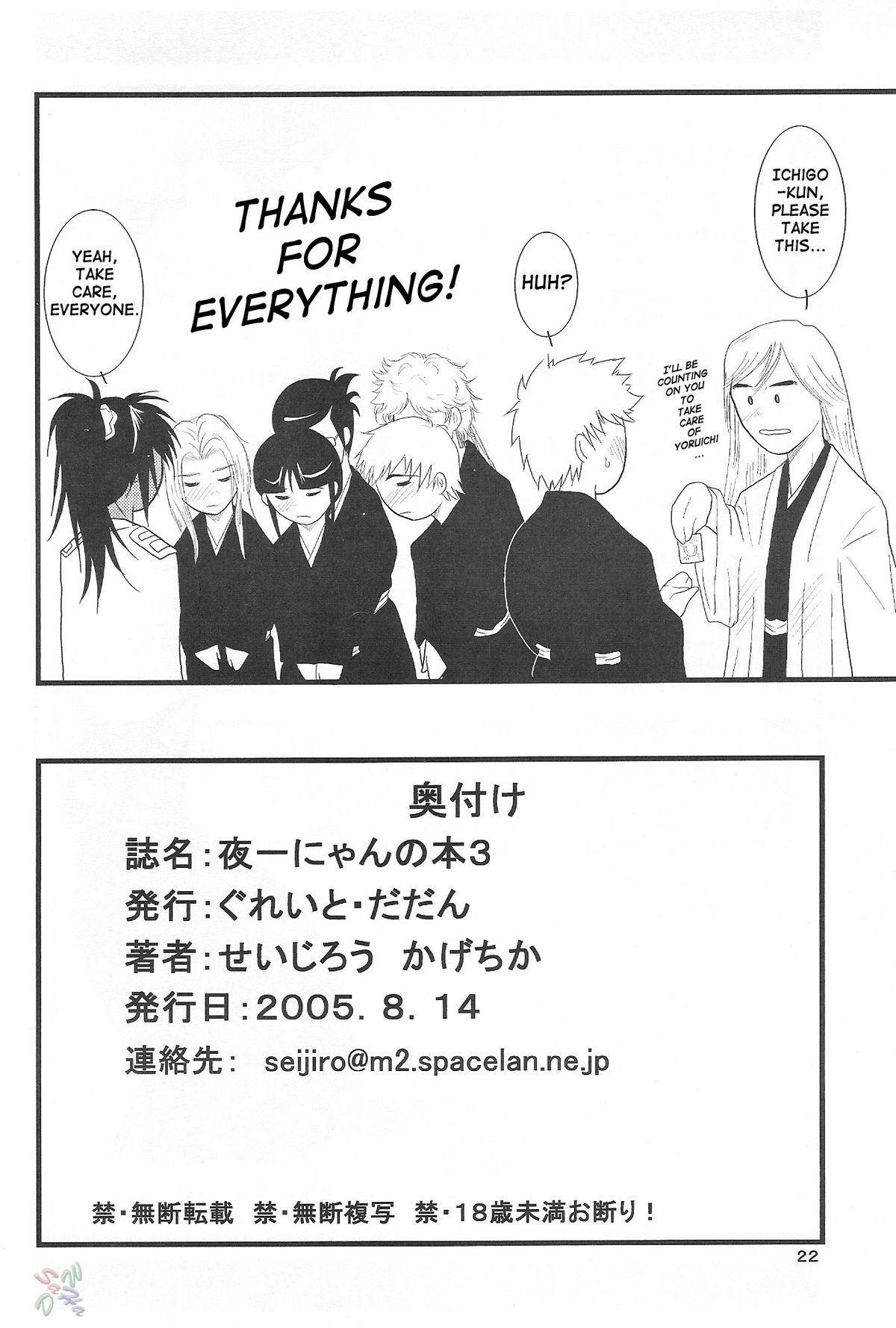 Yoruichi Nyan no Hon 3 20