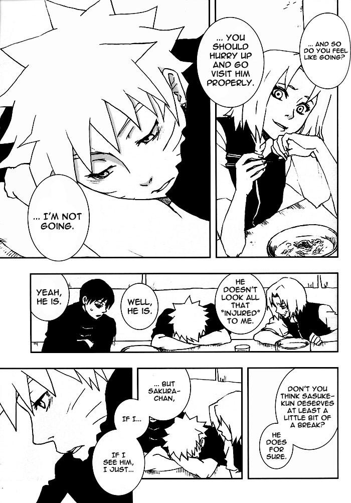 Bite (NARUTO) [Sasuke X Naruto] YAOI -ENG- 9