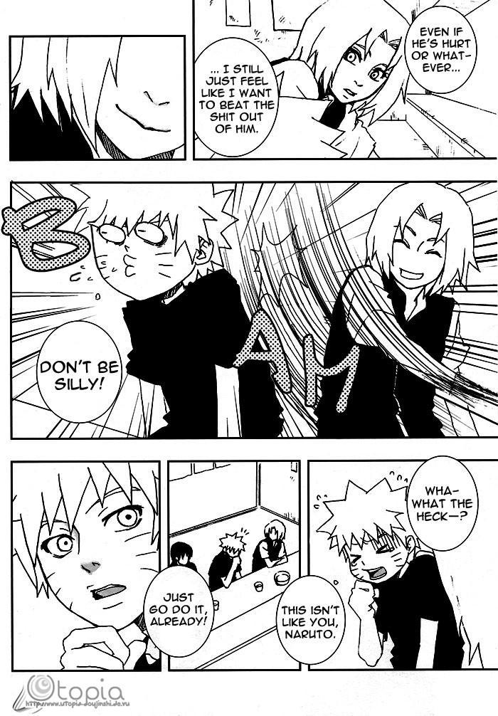 Bite (NARUTO) [Sasuke X Naruto] YAOI -ENG- 10