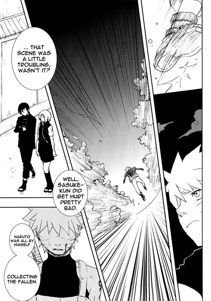 Bite (NARUTO) [Sasuke X Naruto] YAOI -ENG- 11