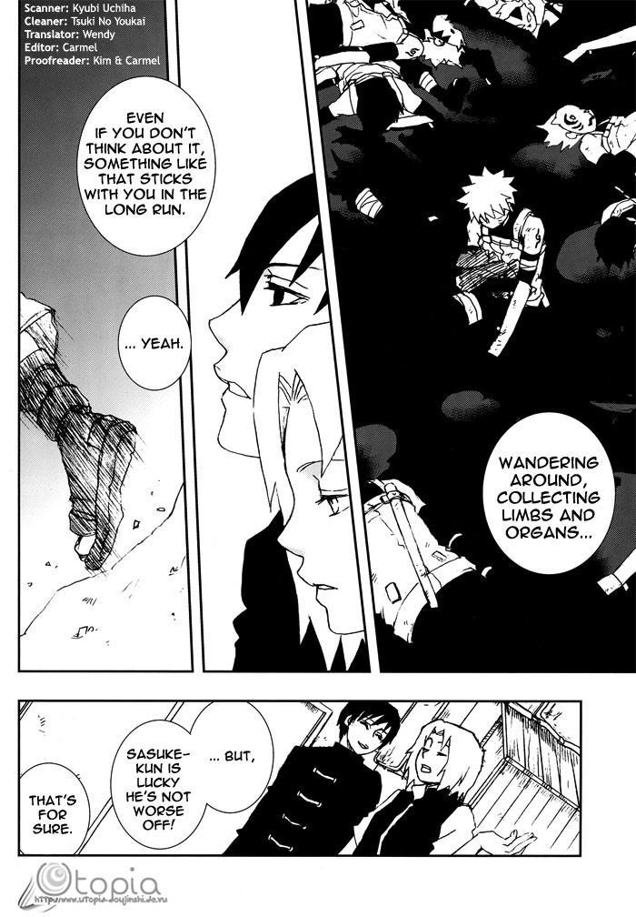 Bite (NARUTO) [Sasuke X Naruto] YAOI -ENG- 12