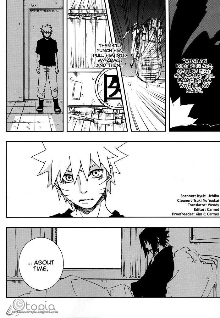 Bite (NARUTO) [Sasuke X Naruto] YAOI -ENG- 14
