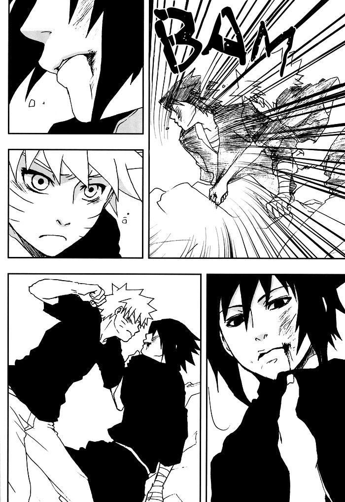 Bite (NARUTO) [Sasuke X Naruto] YAOI -ENG- 16