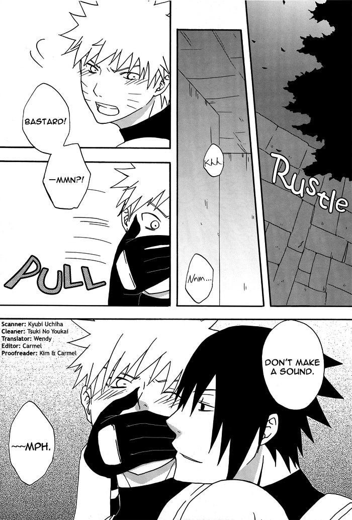 Bite (NARUTO) [Sasuke X Naruto] YAOI -ENG- 24