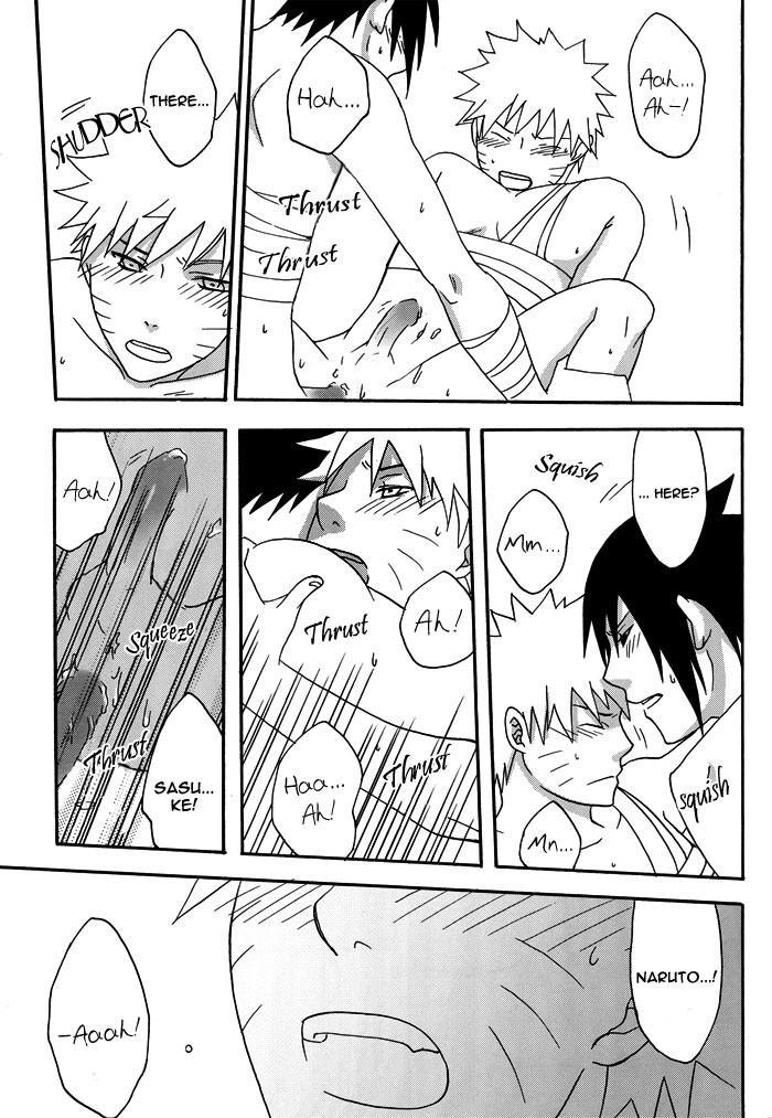 Bite (NARUTO) [Sasuke X Naruto] YAOI -ENG- 43