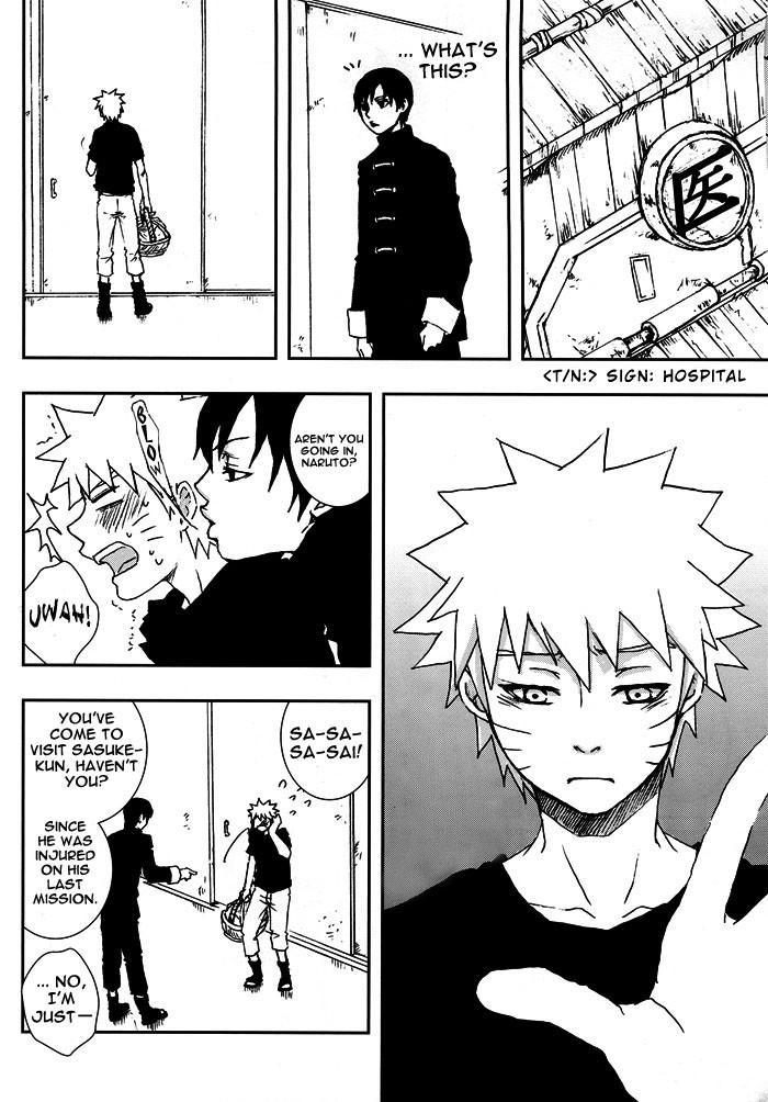 Bite (NARUTO) [Sasuke X Naruto] YAOI -ENG- 4