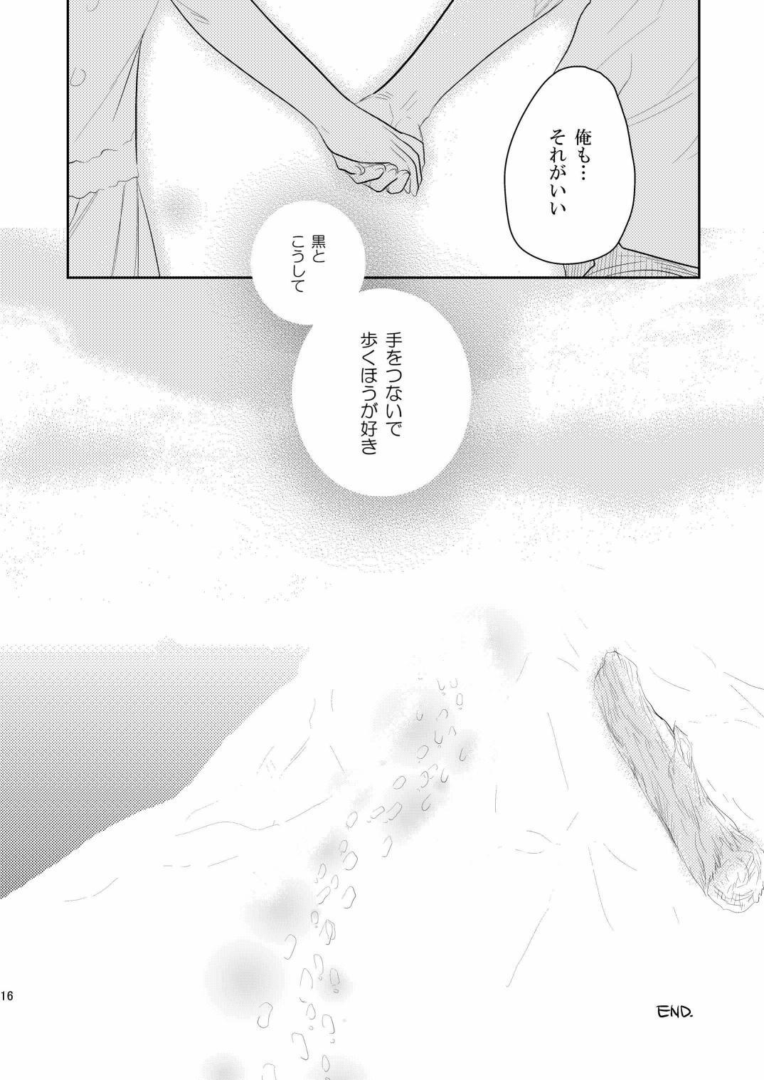 (COMIC1☆4) [AHM (Inu-Blade, Lact Mangan)] Kuroda (Tsuma) Shichihenge (DARKER THAN BLACK) 14