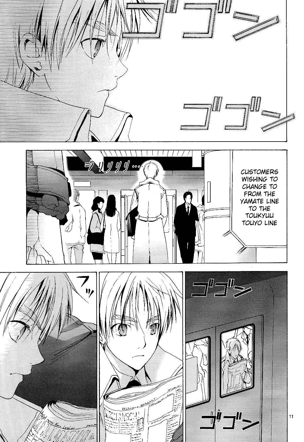 Arthur Kirkland no Hisoyakana Tanoshimi 9