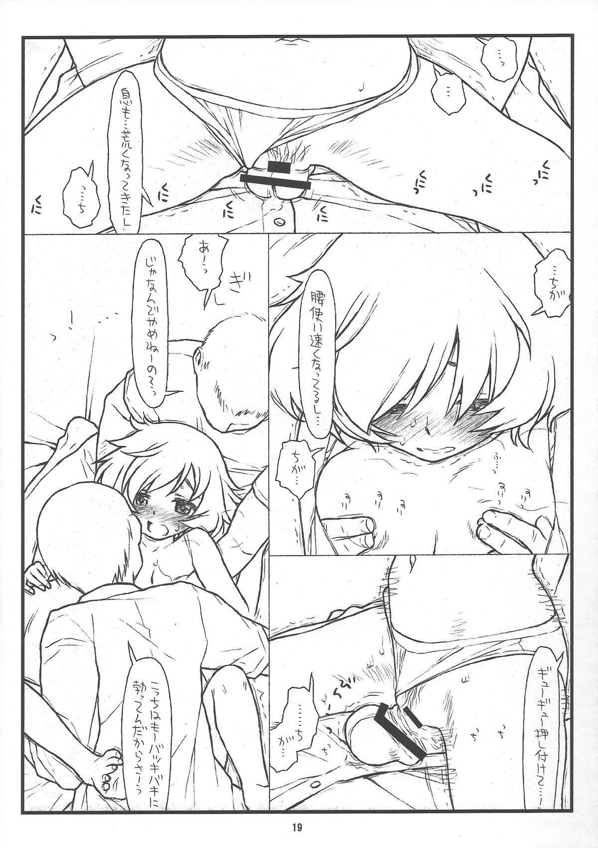 (C84) [bolze.] 「Honanie + Akiyama-dono Sennyudaisakusen (Sippai)」 (Girls und Panzer) 18